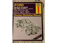 Ford Escort Haynes Manual