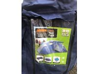 Tent and family pack