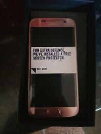Samsung S7 32gb pink gold. BRAND NEW