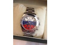 Mens Rolex Oyster (red white and blue)