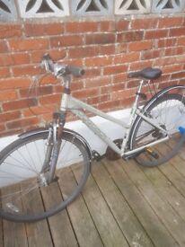 ridgeback mountainbike hybrid bicycle