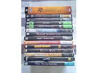 Bundle of 14 PC games