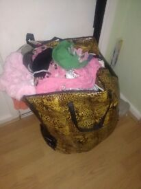 Bag of clothing great for car boot
