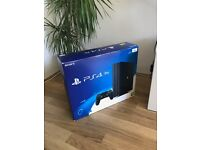 Sony Playstation 4 pro New PS4 PRO With Game