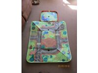 Happy land foldable storage box and road mat