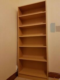 2 large book shelves - £30 each or £50 for both