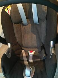 Mamas and Papa Stage 1 car seat and Aton Q Iso fix