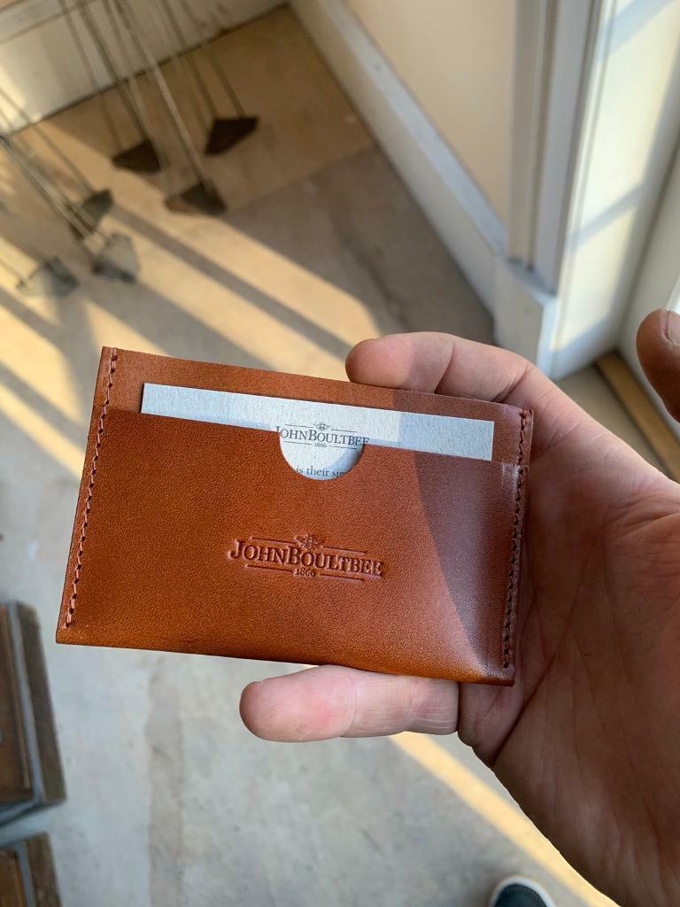 96457353022 Brooks John Boultree tan card sleeve   in Meadows, Edinburgh ...