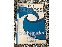 Maths sats revision book