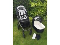 UPPAbaby Vista pushchair and carry cot