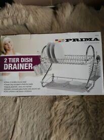 NEW Dish Drainer 2 Tier