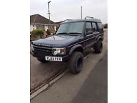 Discovery 2. New 12 months MOT, just serviced new front bumper new wheels. Very reliable good mpg