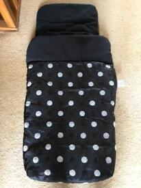 Pram cover blanket