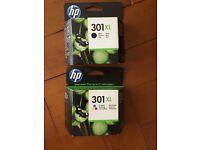 HP 301 XL (BLACK + COLOR) INK CARTRIDGE