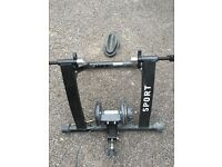 Indoor Bike Trainer - Only ever used twice - LIKE NEW - Magnetic Turbo Trainer - Variable Resistance