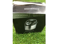 Cookworks Breadmaker - Black and Silver