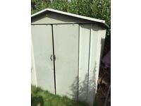 Used metal garden shed, collection only