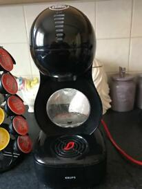 Dolce Gusto Lumio Coffee Machine with Pods and Pod Holder