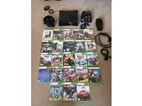 Xbox 360 with games and accesories