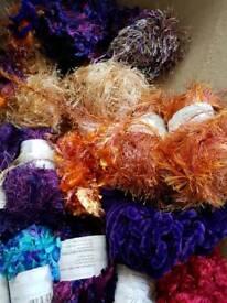 Bundle of knitting yarn