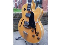 1988 vintage Ibanez FG-100 archtop guitar (make/model used by George Benson in the 80s).