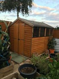 Billy Oh 8ft x 6ft shed