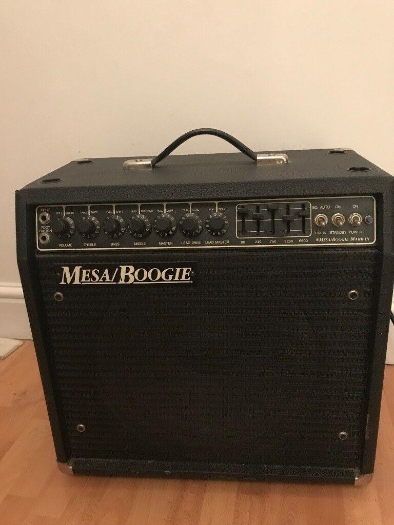 Mesa Boogie Mk III Combo Amplifier