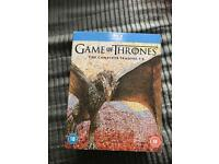 Game of thrones blu-ray box set