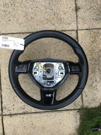 Vauxhall Astra/vectra vxr leather steering wheel