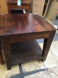 Coffee table. By Molly's desk