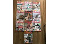 Reloved Magazine / Crafting /Home Improvement / DIY & Upclycling Ideas x 10 back copies RRP £5 each