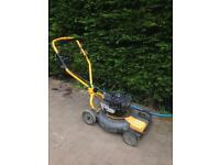 Tiga rough cut self propelled lawnmower