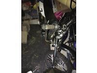 Hawk moto 125cc dirt bike