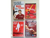 3 x Social Commentary DVD Documentaries - The Corporation / This Film is Not Yet Rated / McLibel