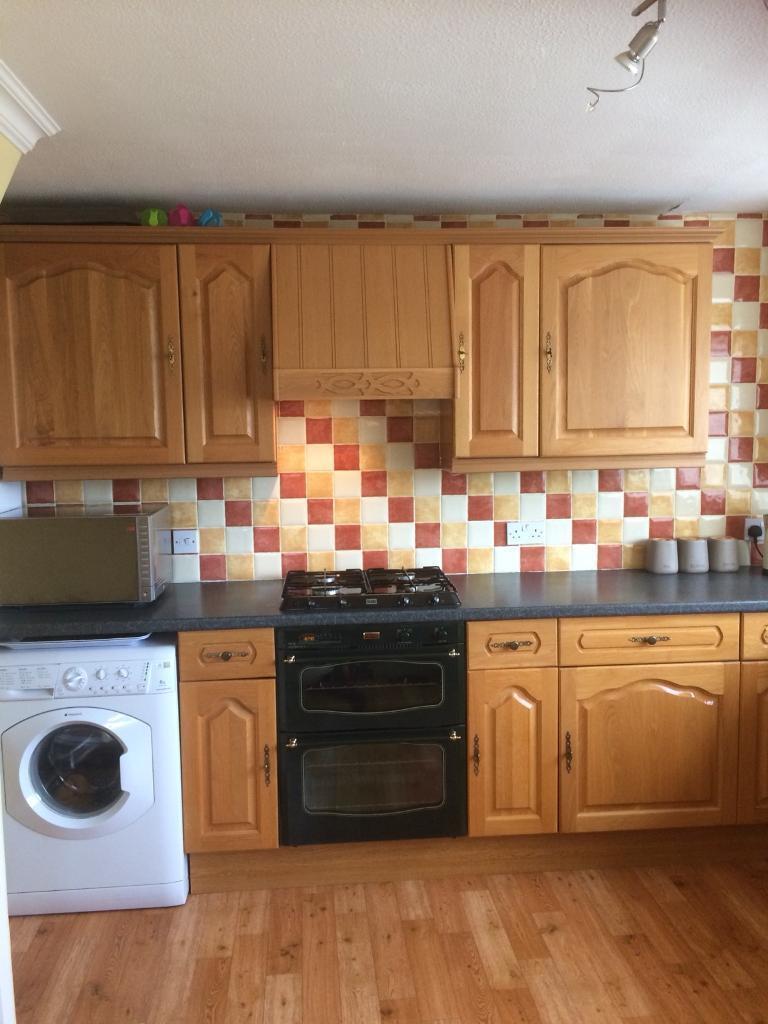 Kitchen solid oak doors