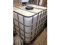 1000 litre IBC tank