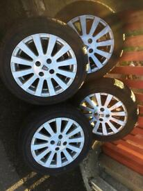 "Rover alloys 15"" wheels"