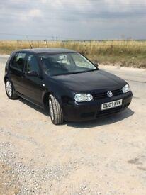 Volkswagen Golf 1.8 T GTI (150 bhp) 5dr 2003