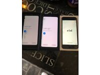 iPhone 6s and Samsung galaxy S8 and S9 for spare or repair.