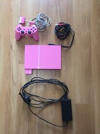 Pink PlayStation 2 slim
