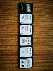 SD card for Sat nav incorporate
