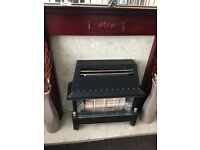 **Quick sale** bargain wood and marble back fireplace