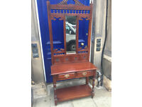 Hall Stand , in good condition . Size W 36in D 15in H 82in. Free Local delivery.