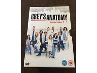 Grey's Anatomy Seasons 1-7