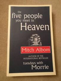 The Five People You Meet In Heaven Paperback Book