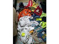 Baby boys clothes bundle 9-12 months.