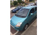 CHEVROLET MATIZ 995cc S DOOR HATCHBACK, 2007, £1200 cheep to run .. also good for new driver