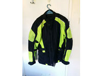 Motorcycle jacket & trousers - size L