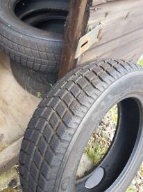 set off 4 winter tyres