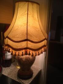 Ginger jar style lamp 1960's